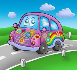 Hipi auto na cesti