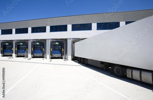 Tablou Canvas Loading docks