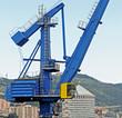blue harbor crane