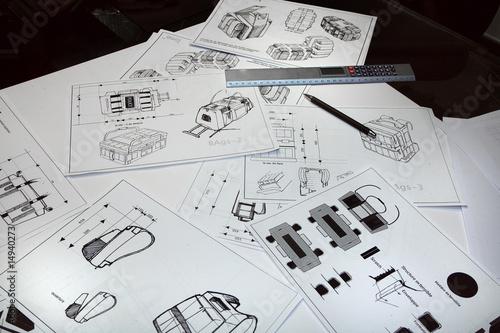 Fényképezés  projet en dessin