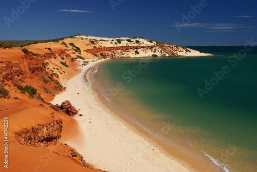 Printed kitchen splashbacks Australia Coastline in Francois Peron National Park, Western Australia