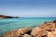 Formentera balearic island Cala Saona Beach