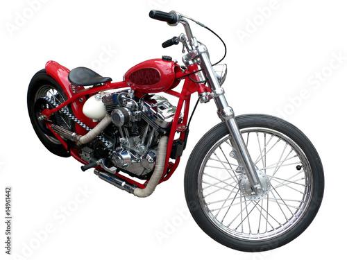 Fotografia, Obraz  red motorcycle