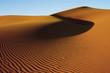 Golden sand dune