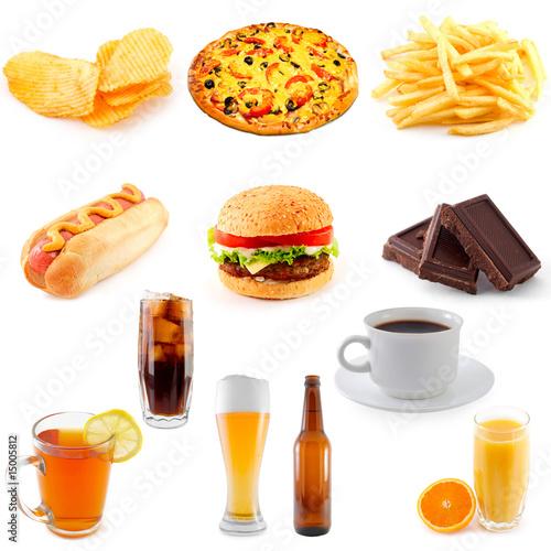 set of fast food © Sergey Peterman