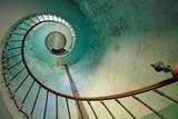 In den spiralförmigen Gedanken