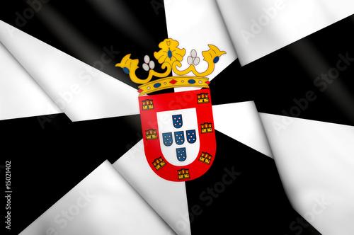 Flag of Ceuta (SPAIN)