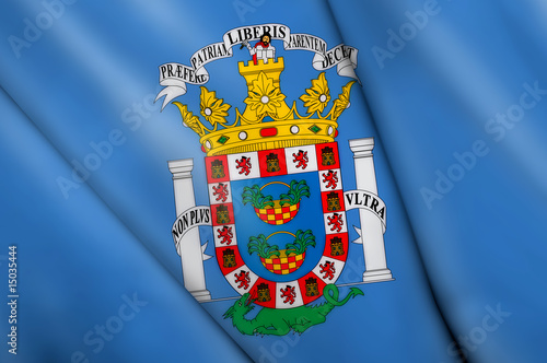 Flag pin - Melilla (SPAIN)