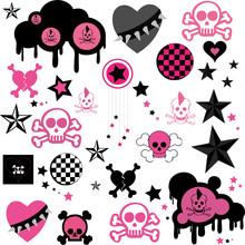 Emo Collage (vector)