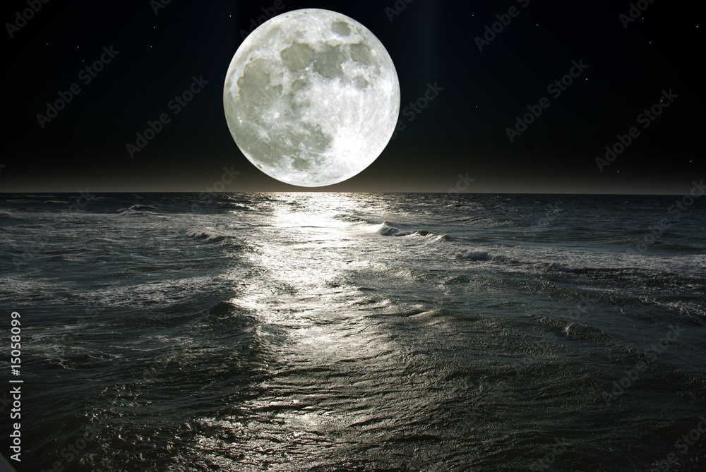 Fototapeta moon