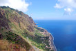 la falaise au dessus de Paul do Mar