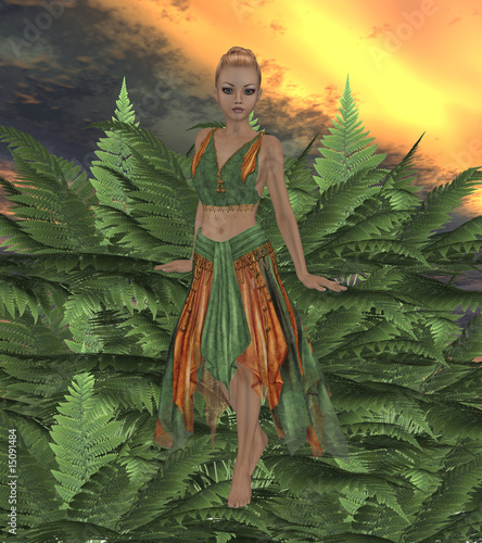 Canvas Prints Fairies and elves Fern Fae