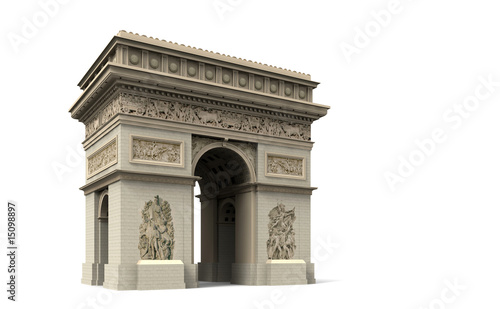 Valokuva  Arc de Triomphe, Triumphbogen