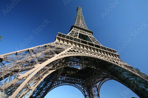 Fototapeta Eiffla tower, paris obraz na płótnie