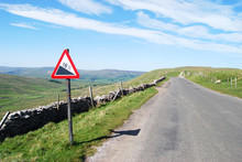 Empty Road In Yorkshire Dales