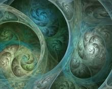 Complicated Fractal Spiral