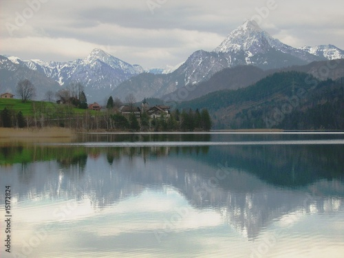 Photo sur Aluminium Piscine Weissensee