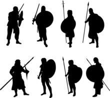 Warrior Silhouettes