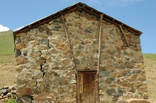 Altes Haus Auf Der Alm