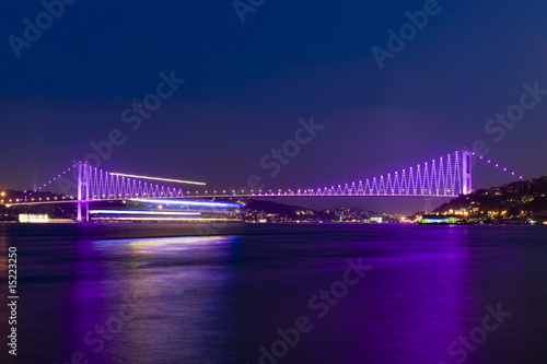 Photo  Bosporus bridges, Istanbul, Turkey