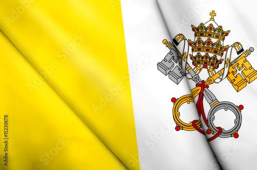Flag of Vatican City Tapéta, Fotótapéta
