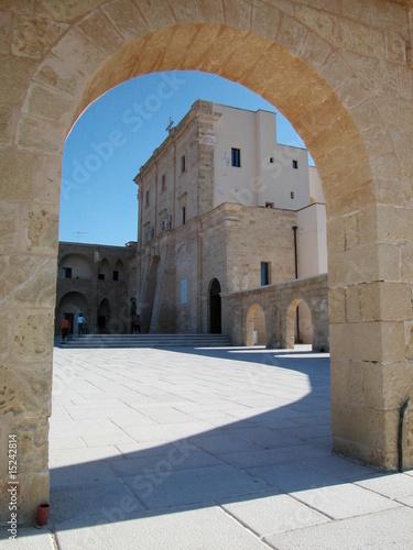 Fototapeta Sanctuary of Santa Maria di Leuca, Italy obraz na płótnie