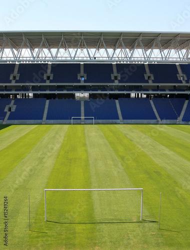 Aluminium Prints Stadion goals of an stadium