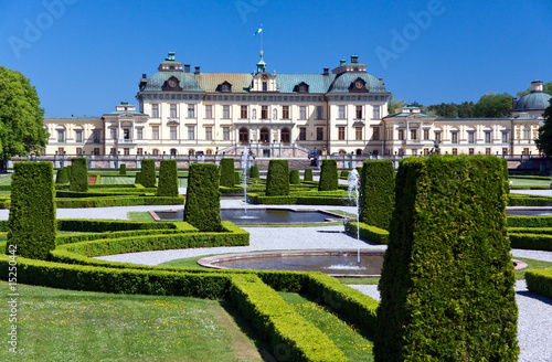 Photo  Königspalast-Schloss Drottningholm,Stock