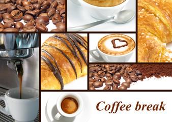 Fototapeta Kawa Coffee break