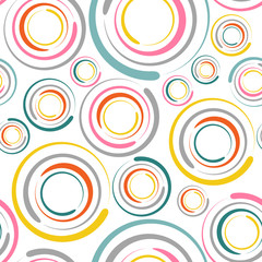 Fototapetacircles seamless pattern