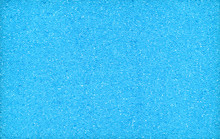 Blue Background, Texture Of Foam Rubber