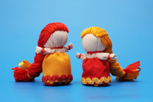 """Dolls """"for Luck"""", Inspired By Traditional Russian Rag Dolls"""