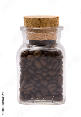Coffee Beans In Gl Jar This Stock Photo And Explore Similar