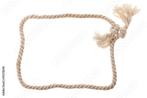 Fotografía  Cord with knot.
