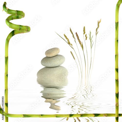 Fototapety, obrazy: Zen Garden Balance