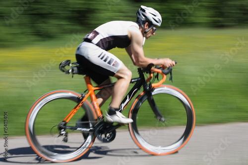 Radfahren Canvas Print
