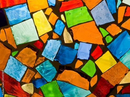 Fototapety, obrazy: Color mosaic