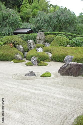 Photo sur Plexiglas Zen pierres a sable Temple in Kamakura