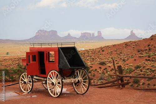 Valokuva  Postkutsche im Wilden Westen