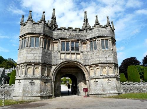 Fotografie, Obraz  Main entrance at Lanhydrock Castle in England