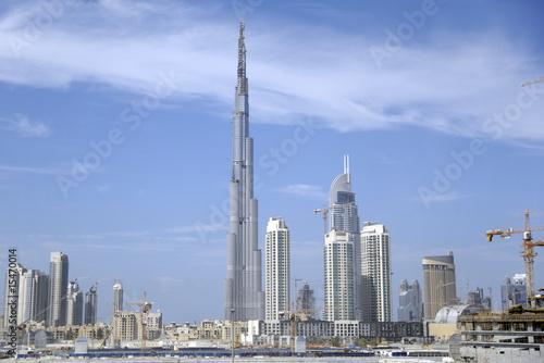 Photo  Skyline of Dubai