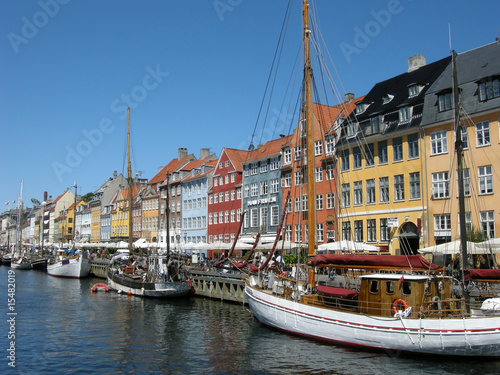 Photo  Nyhavn in Kopenhagen