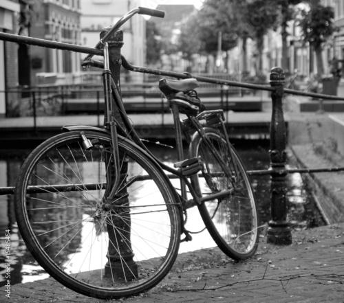 Stary rower miejski