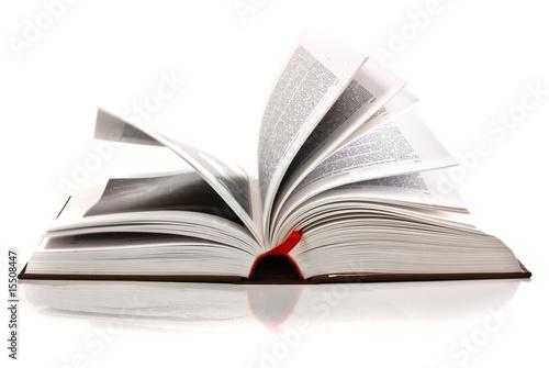 Fotografía  open book