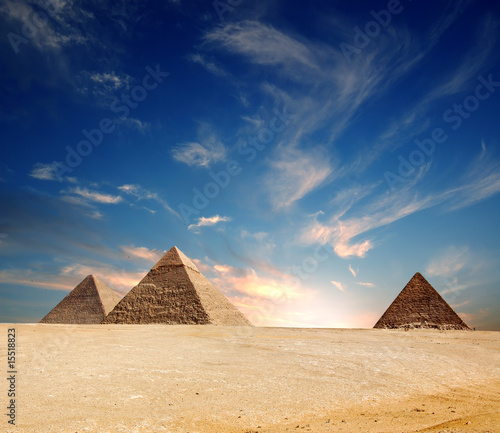Photo Stands Egypt Pyramid
