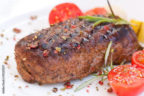 Papiers peints Steakhouse Rumpsteak(Roastbeef) - gegrillt
