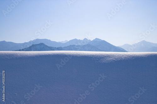 Papiers peints Alpes 雪