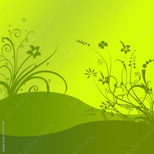 Papiers peints Jaune paysage
