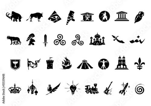 Valokuva  histoire symboles