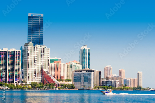 Photo  Miami Skyline